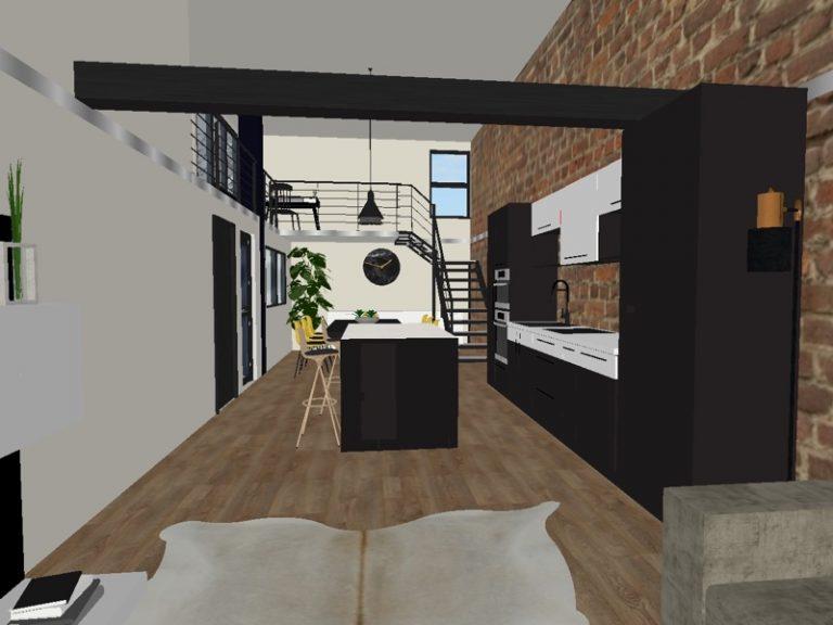 3D plan apartment Monaco