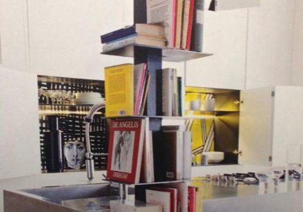 bibliothèque pilier vertical