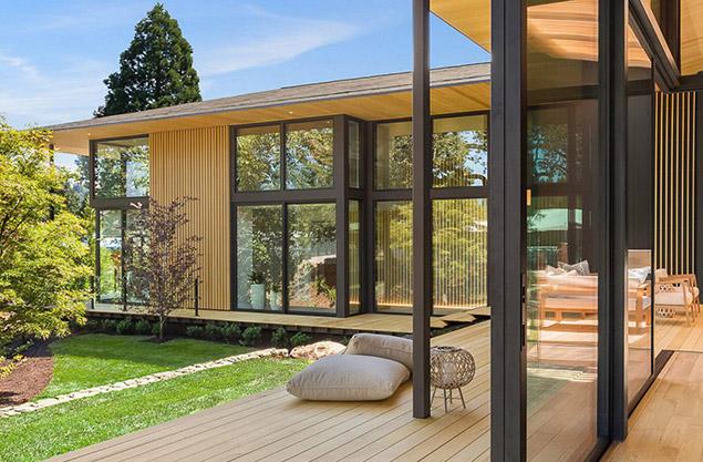villa contemporaine rénovation architecte mougins